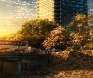 city, inspiration, and anime image