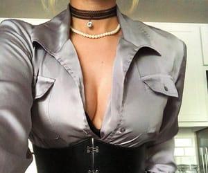 aesthetic, corset, and denim image