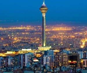 big, big city, and lights image