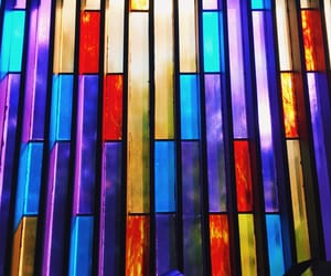 cathedral, church, and glass art image