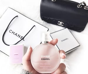chanel, bag, and perfume image