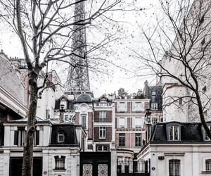 city, paris, and travel image