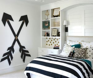 bedroom, homedecor, and home image