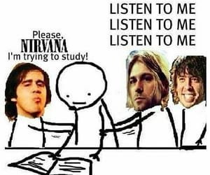 nirvana, music, and kurt cobain image
