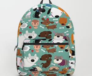 backpack, dogs, and school image