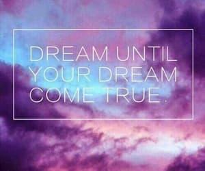 Dream, sky, and purple image