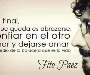 frases, letras, and amar image