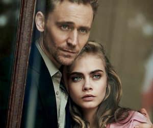 tom hiddleston, cara delevingne, and model image
