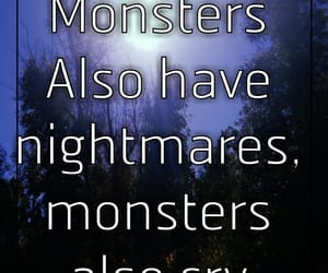cry, monsters, and emotions image