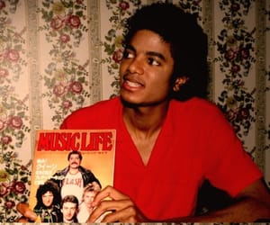 beauty, king of pop, and legend image