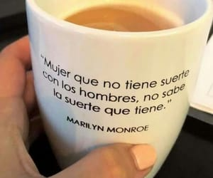 frases, Marilyn Monroe, and mujer image