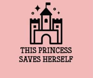 princess, pink, and wallpaper image