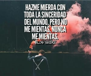 frase and sinceridad image