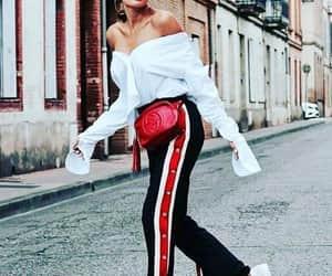fashion, girls, and pants image