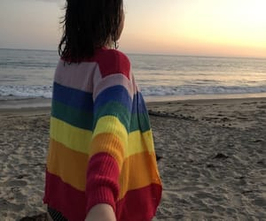 bisexual, rainbow, and lgbt flag image