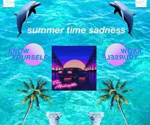 aesthetic, seapunk, and synthwave image