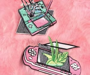 aesthetic, pins, and vaporwave image