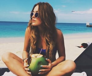 beach, coco, and girl image