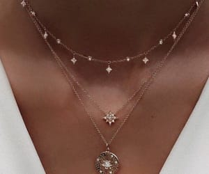 accessoires, collarbone, and neclace image