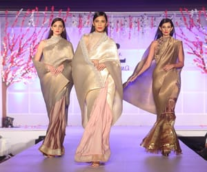 unity in diversity, new delhi., and models showcase creations image