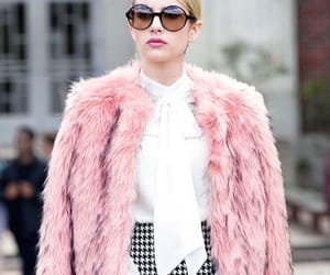 emma roberts, chanel, and pink image