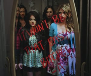 pretty little liars, pll, and -a image