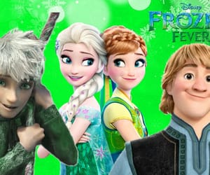 anna, fever, and frozen image