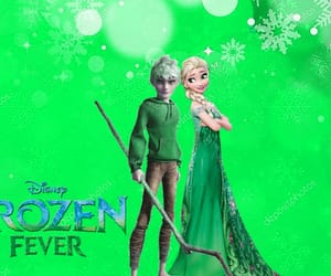 fever, frozen, and jack frost image