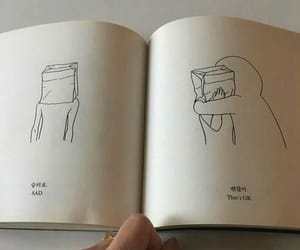 book, sad, and aesthetic image