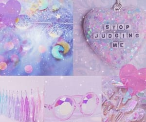 blue, glitter, and pink image