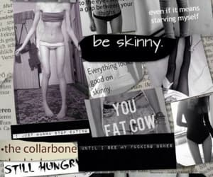 anorexia, article, and fat image