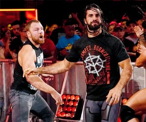 hell in a cell, seth rollins, and hiac image