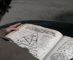 book, supernatural, and pentagram image