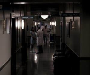 corridor, dean winchester, and doctors image