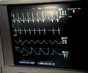 cardiogram, medicine, and supernatural image