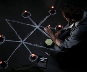 candles, supernatural, and demon image