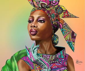 africa and woman image
