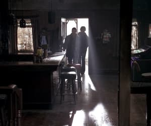 bar, sam winchester, and tv series image