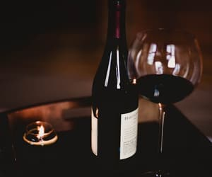 aesthetic, night, and wine image