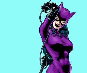 catwoman, comic, and DC image