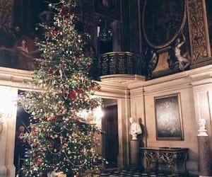 aesthetic, celebration, and christmas tree image