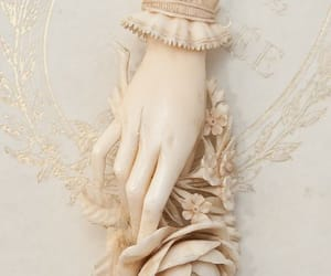 hand, art, and pale image