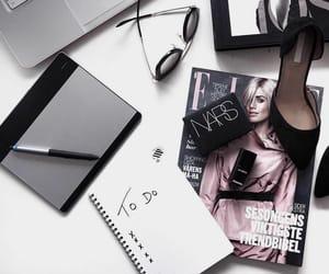 beauty, desk, and fashion image