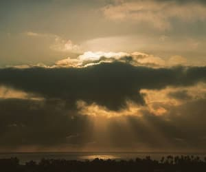 california, cielo, and nubes image