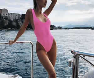 fitness, sea, and summer image