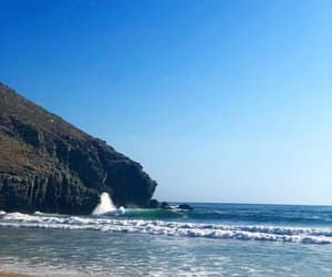 arena, playa, and cerro image
