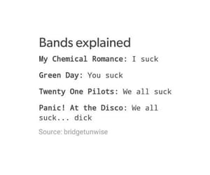 bands, green day, and meme image
