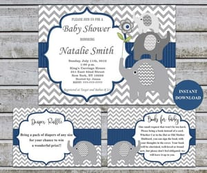 etsy, printable, and boy baby shower image