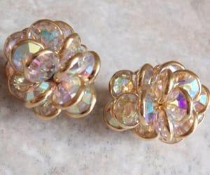 etsy, clip on earrings, and swarovski earrings image