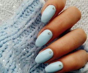 blue, gems, and long image